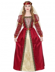 Royal middelalder prinsesse kostume pige