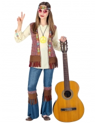 Hippie kostume peace pige