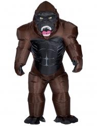 Oppustelig gorilla kostume - voksen