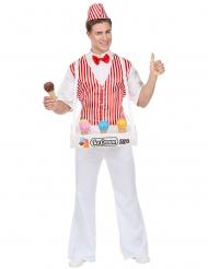 Issælger kostume mand