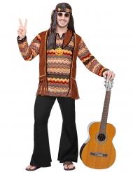 Hippie Kostume med pandebånd til mænd