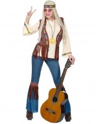 Hippie kostume peace til kvinder