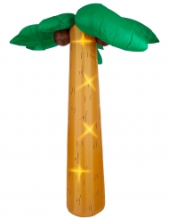 Gigantisk oppustelig palme med lys 270 cm