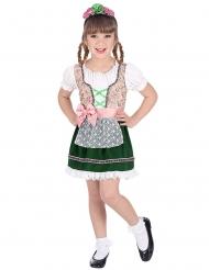 Tyroler kostume pige