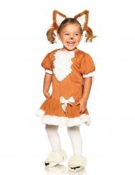 Skov ræv kostume pige