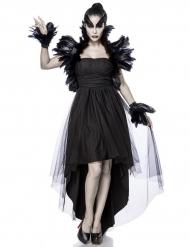 Kostume sort troldkvinde kvinde