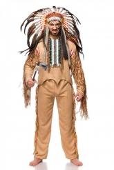 Kostume indianer luksus mand