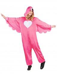 Flamingo kostume lysrød kvinde