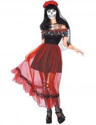 Dia De los muertos kostume kvinde