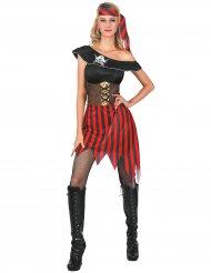 Piratinde kostume kvinde