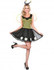 bikostume gul og sort kvidne