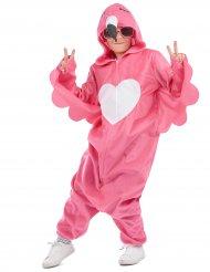 Flamingo udklædning lyserød pige