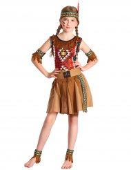 Indianer udklædning pige