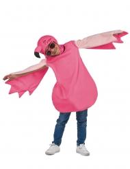 Flamingo kostume lyserød pige