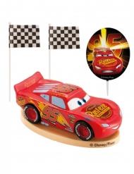 Cake topper sæt i plastik Cars™ 8,5 cm