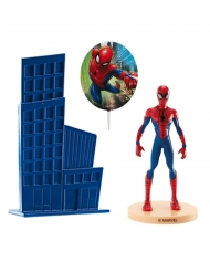 Kagedekoration i plastik Spiderman™ 8,5 cm