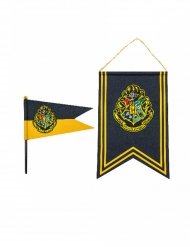 Harry Potter™ Hogwarts banner og flag