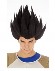 Vegeta Saiyan paryk sort Dragon Ball™ voksen