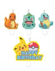 4 Fødselsdagslys Pokémon™