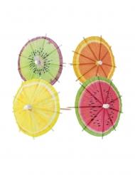 20 Cocktail-paraplyer frugt