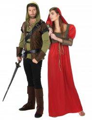 Kostume fredløs og princesse middelalder