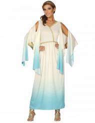 Kostume gudinde græsk hvid og blå kvinde