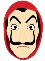 karton maske indbrudstyv tegnet voksen