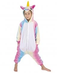 Kostume heldragt enhjørning regnbue barn