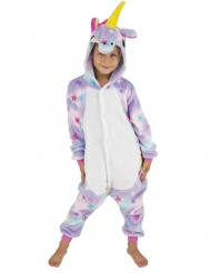 Kostume heldragt enhjørning med stjerner barn