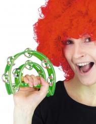 Grøn tamburin 40 cm