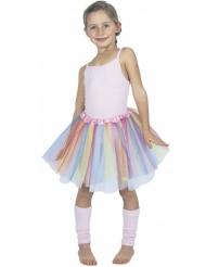 Ballerina tylskørt pastelfarver barn