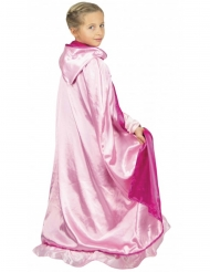 Tosidet luksus kappe lyserød - pige