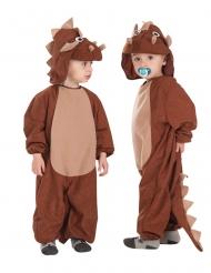 Kostume heldragt triceratops barn