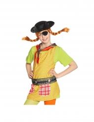 Pippi Langstrømpe™ pirat sæt - pige