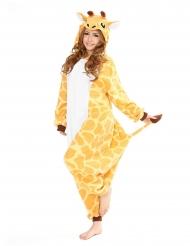 Heldragt Kigurumi™ giraf voksen
