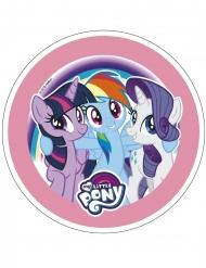 My Little Pony™ Spiselig kagedekoration 21 cm - tilfældig