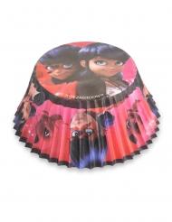 50 Cupcake forme Ladybug™ 7 cm