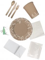 picnic sæt miljøvenligt - 4 personer