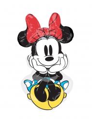 Aluminium ballon Minnie™ retro 50 x 86 cm