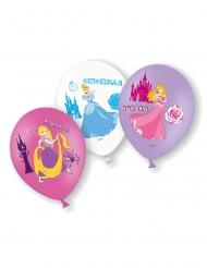 6 Balloner i latex Disney™ prinsesser 28 cm