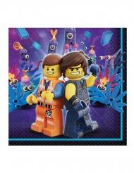 16 Papirservietter The Lego Movie 2™ 33 x 33 cm