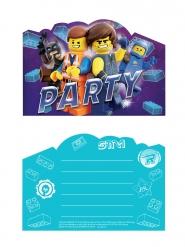 8 invitationskort og kuverter The Lego Movie 2™