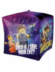 Ballon aluminium kube The Lego Movie 2™ 38 x 38 cm