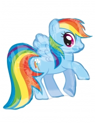 Aluminium Ballon My Little Pony™ Rainbow Dash 71 x 68 cm