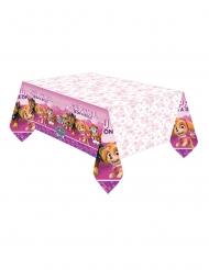 Borddug i plastik lyserød Paw Patrol™ 137 x 274 cm