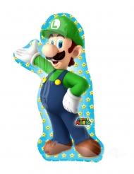 Aluminium ballon Luigi Super Mario Bros™ 50 x 96 cm