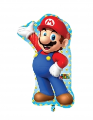 Ballon i aluminium Super Mario™ 55 x 83 cm