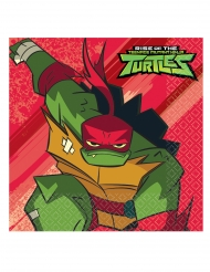 16 Papirservietter The Rise of Teenage Mutant Ninja Turtles™ 33 x 33 cm