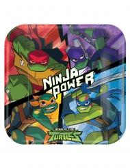 8 Paptallerkner The Rise of Teenage Mutant Ninja Turtles™ 23 x 23 cm