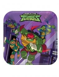 8 Små paptallerkner The Rise of Teenage Mutant Ninja Turtles